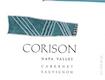 Corison Cabernet Sauvignon - label