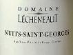 Domaine Lecheneaut Nuits-Saint-Georges  - label