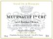 Domaine Tessier Meursault Premier Cru Les Charmes Dessus - label