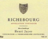 Henri Jayer Richebourg Grand Cru  - label