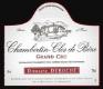 Domaine Duroché Chambertin Clos de Bèze Grand Cru  - label