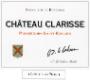 Château Clarisse Vieilles Vignes - label