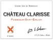 Château Clarisse  - label
