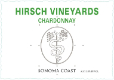 Hirsch Vineyards Estate Chardonnay - label