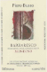 Piero Busso Barbaresco Vigna Borgese - label