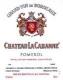 Château La Cabanne  - label