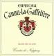 Château Canon-la-Gaffelière  Premier Grand Cru Classé B - label
