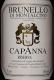Capanna Brunello di Montalcino  Riserva - label