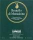 Tenuta Caparzo Brunello di Montalcino  - label