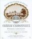 Château Carbonnieux Blanc Cru Classé de Graves - label