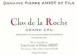Domaine Pierre Amiot Clos de la Roche Grand Cru  - label