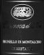 Casanova di Neri Brunello di Montalcino Cerretalto - label