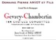 Domaine Pierre Amiot Gevrey-Chambertin Premier Cru Aux Combottes - label