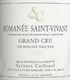 Sylvain Cathiard Romanée-Saint-Vivant Grand Cru  - label