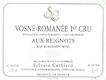 Sylvain Cathiard Vosne-Romanée Premier Cru Aux Reignots - label