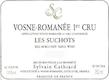Sylvain Cathiard Vosne-Romanée Premier Cru Les Suchots - label