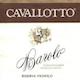 Cavallotto Barolo Vignolo Riserva - label