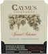 Caymus Vineyards Special Selection Cabernet Sauvignon - label