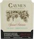 Caymus Vineyards Special Selection Cabernet Sauvignon - label