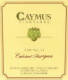 Caymus Vineyards Cabernet Sauvignon - label