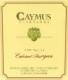 Caymus Vineyards Cabernet Sauvignon - label