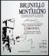 Cerbaiona Brunello di Montalcino  - label