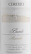 Ceretto Barolo Brunate - label