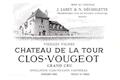 Château de la Tour Clos de Vougeot Grand Cru Vieilles vignes - label