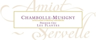 Domaine Amiot-Servelle Chambolle-Musigny Premier Cru Les Plantes - label