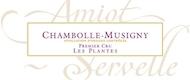 Domaine Amiot-Servelle Chambolle-Musigny Premier Cru Les Plantes - label
