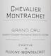 Château de Puligny-Montrachet Chevalier-Montrachet Grand Cru  - label