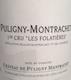 Château de Puligny-Montrachet Puligny-Montrachet Premier Cru Les Folatières - label