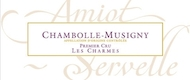 Domaine Amiot-Servelle Chambolle-Musigny Premier Cru Les Charmes - label