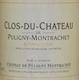 Château de Puligny-Montrachet Puligny-Montrachet  - label