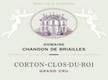 Domaine Chandon de Briailles Corton Grand Cru Clos Du Roi - label