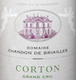 Domaine Chandon de Briailles Corton Grand Cru Blanc - label