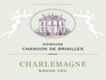 Domaine Chandon de Briailles Corton-Charlemagne Grand Cru  - label