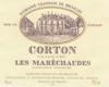 Domaine Chandon de Briailles Corton Grand Cru Les Maréchaudes - label