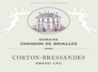 Domaine Chandon de Briailles Corton Grand Cru Bressandes - label
