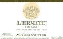 M. Chapoutier Hermitage Ermitage Blanc L'Ermite - label