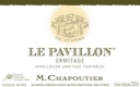 M. Chapoutier Hermitage Ermitage Le Pavillon - label
