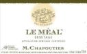 M. Chapoutier Hermitage Ermitage Le Méal Blanc - label