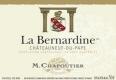 M. Chapoutier Châteauneuf-du-Pape La Bernardine - label