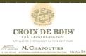 M. Chapoutier Châteauneuf-du-Pape Croix de Bois - label