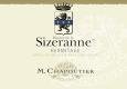 M. Chapoutier Hermitage Monier de la Sizeranne - label