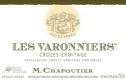M. Chapoutier Crozes-Hermitage Les Varonniers - label