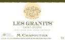 M. Chapoutier Saint-Joseph Blanc Les Granits - label