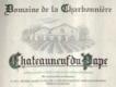Domaine de la Charbonnière Châteauneuf-du-Pape Blanc - label