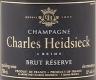 Charles Heidsieck Brut Réserve - label